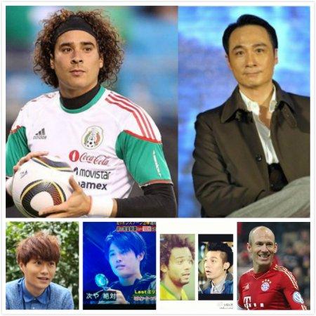 人有相似!球星明星齊「撞樣」 - Yahoo Style 香港