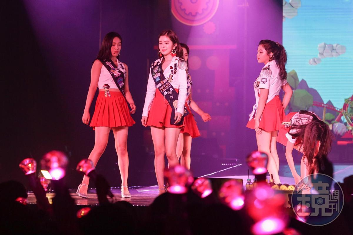 Red Velvet只要想到臺灣就會微笑 短裙辣舞嗨翻臺粉 - Yahoo奇摩新聞