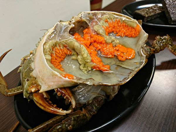 桃園[張紅蟳薑母鴨]新鮮紅蟳膏黃混入薑母鴨湯頭 別是滋味 - Yahoo奇摩旅遊
