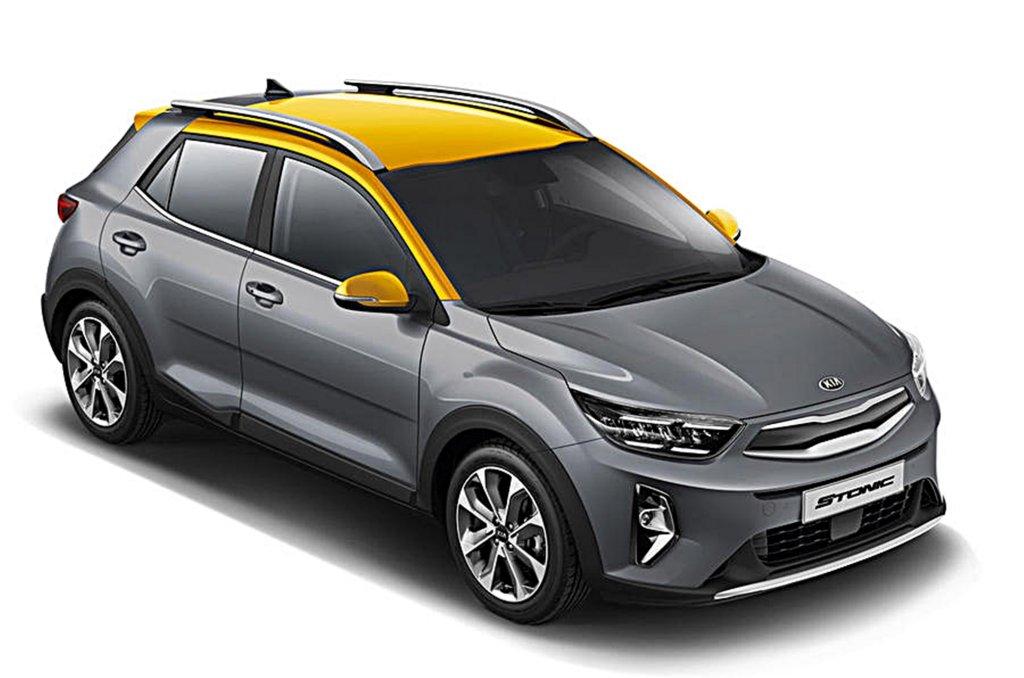 KIA跨界休旅Stonic推出小改款,追加更節能的EcoDynamics輕油電動力系統 - Yahoo奇摩汽車機車