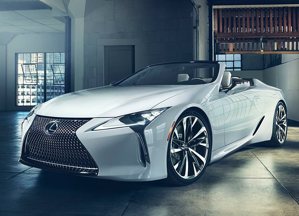 LEXUS證實全新LC敞篷車將在7月的Goodwood速度嘉年華會全球首發 - Yahoo奇摩汽車機車