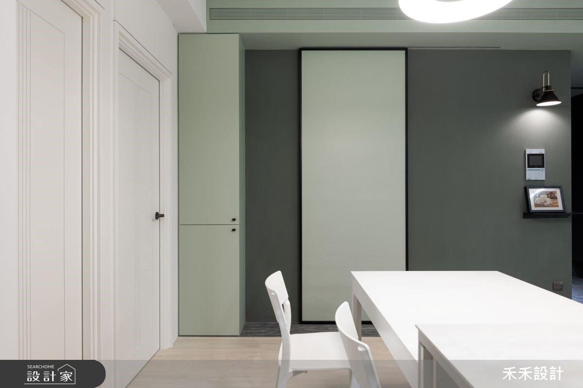 和你和日光膩在一處!系統櫃,莫蘭迪綠給你超越 15 坪的清新質感 - Yahoo奇摩房地產