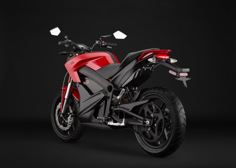 Zero SR electric motorcycle