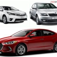 New Corolla Altis Vs Skoda Octavia Harga Agya Trd 2018 Spec Comparo Hyundai Elantra Toyota
