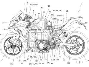 Kawasaki Ninja 300 Electric Bike Patent Images Leaked