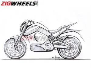EXCLUSIVE: Revolt Electric Motorcycle Design Sketch