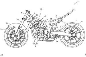 Design Patent Images Of Suzuki GSX-R300 Surface Online