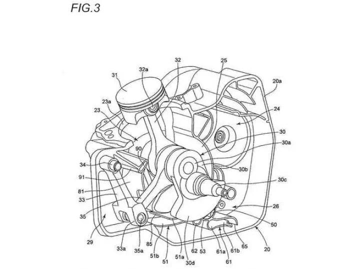 Suzuki Files Patents For New Single-cylinder Engine