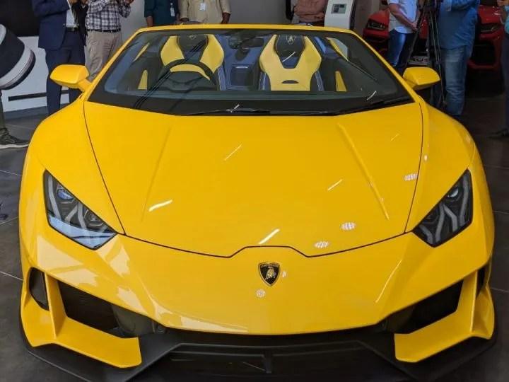 Lamborghini Huracan Evo Spyder India Launch: In Detailed ...