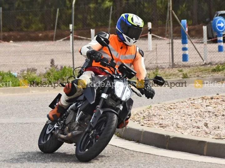 2022 KTM 390 Duke Spotted Testing, Looks Near-production Ready