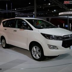 All New Kijang Innova Q Diesel Pajak 2016 Toyota Crysta Price Images Mileage Colours Review In Auto Expo Photo Gallery