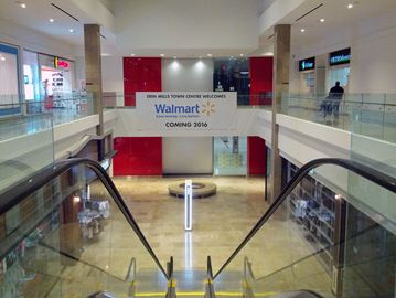 Walmart opening at Erin Mills Town Centre