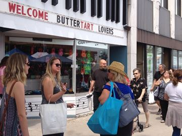 Butter tart lovers were browsing the streets of downtown Midland for the annual Ontario Butter Tart Festival and Contest June 9.