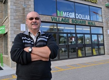 Dale Forget, general manager of the Village Square Mall, said he is worried about the potential disruption the upcoming reconstruction of Main Street will have on retailers.