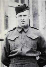Cpl Francis Weitzel in an undated family photo.