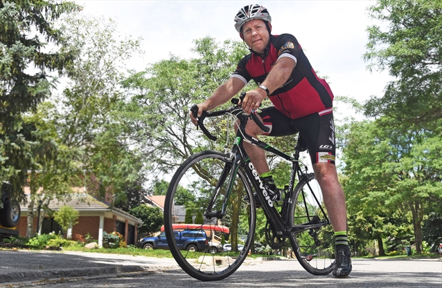 Markham cyclist shares painful story of depression  YorkRegioncom