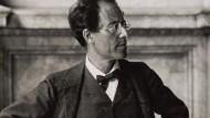 Gustav Mahler, österreichischer Komponist und Dirigent, in den 1900er Jahren