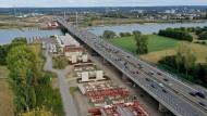 Unendliche Geschichte um marode Rheinbrücke bei Leverkusen
