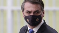 Hat eine Infektion mit dem Coronavirus bestätigt: Brasiliens Präsident Jair Bolsonaro