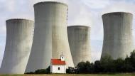 Das Atomkraftwerk Dukovany in der Tschechischen Republik