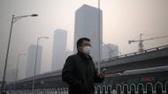 In China ist Luftverschmutzung zu einem der größten Krankheitsverursacher geworden.
