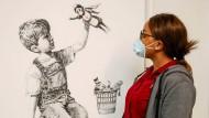 Kunst und Charity: Banksy, Sacha Jafri und Beeple zwischen Goldrausch und Al