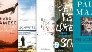 Die wichtigsten Romane aus der Literaturbeilage der F.A.Z.