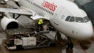 Swiss Airline gehört heute zur Lufthansa.