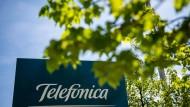 Telefonica ist eines der Unternehmen, die sich im Bieterwettstreit um die 5G-Mobilfunkfrequenzen engagiert.