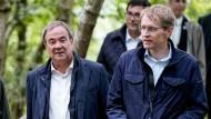 CDU-Chef Armin Laschet und Schleswig-Holsteins Ministerpräsident Daniel Günther