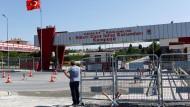 Haupteingang des Silivri-Gefängniskomplexes in der Nähe von Istanbul