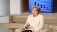 Drohung an die Länder: Bundeskanzlerin Angela Merkel zu Gast bei Anne Will