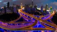 Ist es mit dem kapitalistischen Glanz in Schanghai bald vorbei? Wohl kaum.