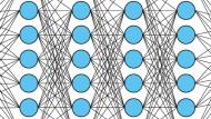 Immer mehr Schichten: Neuronale Netze bislang nie dagewesener Größe sorgen derzeit für Furore auch unter Fachleuten.