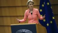 Dürfte nicht begeistert sein von der Eigenmächtigkeit der Mitgliedsstaaten: EU-Kommissionspräsidentin Ursula von der Leyen