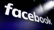 Firmenlogo des wohl größten sozialen Netzwerks der Welt: facebook