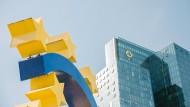 Quo vadis, Commerzbank? Blick auf die Zentrale in Frankfurt