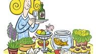 Bunte Tafel: Wer für das Frühlingsfest auf persische Art einkauft, macht sich vermutlich nicht als Hamster verdächtig.
