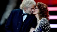 Hat seinen Humor – und seinen Charme – nicht verloren: Thomas Gottschalk mit Sophia Lorén.