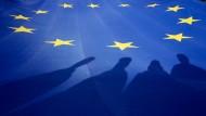 Ein abgründiges Symbol: die Europafahne