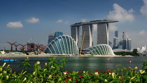 Botanische Gärten In Singapur Die Bäume Der Welt Für Den Garten
