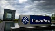 Dunkle Wolken über Thyssen-Krupp