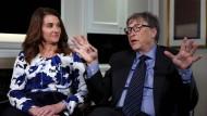Ein Bild aus harmonischeren Zeiten: Bill und Melinda Gates im Februar 2016
