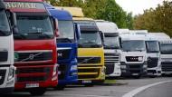 Viele sanitären Anlagen sind aufgrund der Coronakrise geschlossen. Das macht es Lastkraftwagenfahrern schwer, ihren Beruf auszuüben.