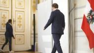 Beinahe kam der Koalitionspartner abhanden: Zuvor erklärte Sebastian Kurz seinen Rücktritt.