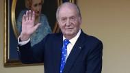 Die Kritik am früheren König Juan Carlos reißt nicht ab