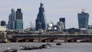 Die Londoner Skyline: Die britische Regierung will im Falle eines No-Deal-Brexits die Freizügigkeit für Neuankömmlinge aus der EU unmittelbar beenden