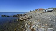 Sorgenfrei im Alter: Ein traditionelles Fischerdorf am Kalmarsund auf Oeland in Schweden