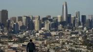 Wird erstmals einen Sitz im Kongress verlieren: der nach wie vor bevölkerungsreichste Bundesstaat Kalifornien mit der Metropole San Francisco