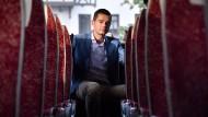 Im Reisebus auf Sommertour durch Thüringen: Mike Mohring